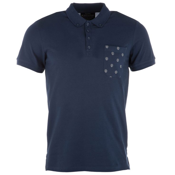 Polo Shirts | Dark Blue Mens Top Polo Shirt | Get The label