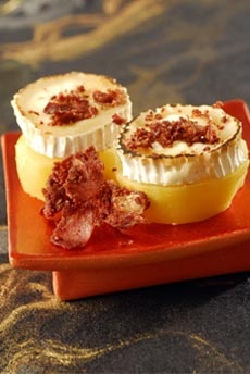 Patatas con bacon y queso