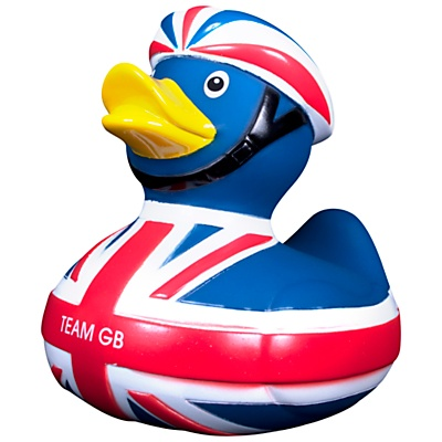 Buy London 2012 Olympic Games 2012 Team GB Cycling Rubber Duck online at JohnLewis.com - John Lewis, £5.95