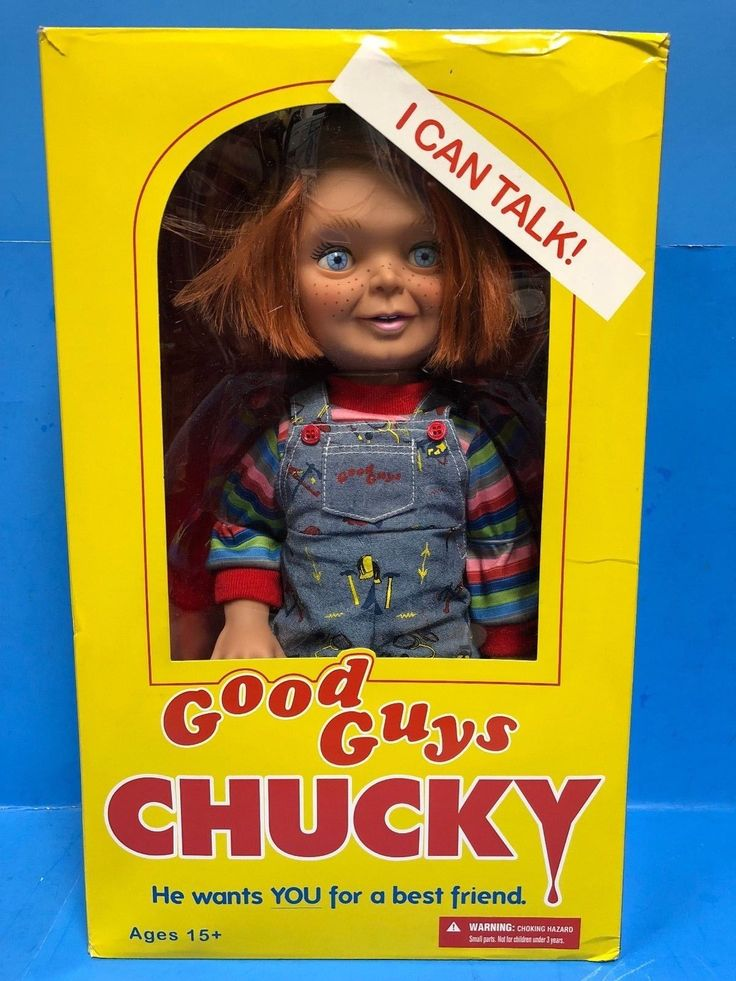 "* Mezco Toys Good Guys Childs Play 2 15"" Talking Chucky Doll"