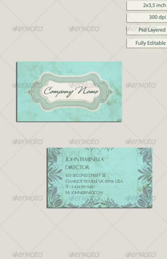 vintage business card designs - Google Search
