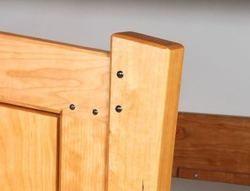 Blackwood pins, AJW Fine Woodworks