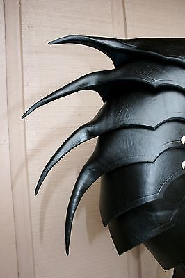 Single Leather War Wolf Spaulder Armor Elric of Melnibone Articulated Cosplay | eBay