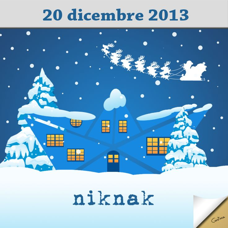 Christmas illustration by niknak | Christmas night, Santa Claus