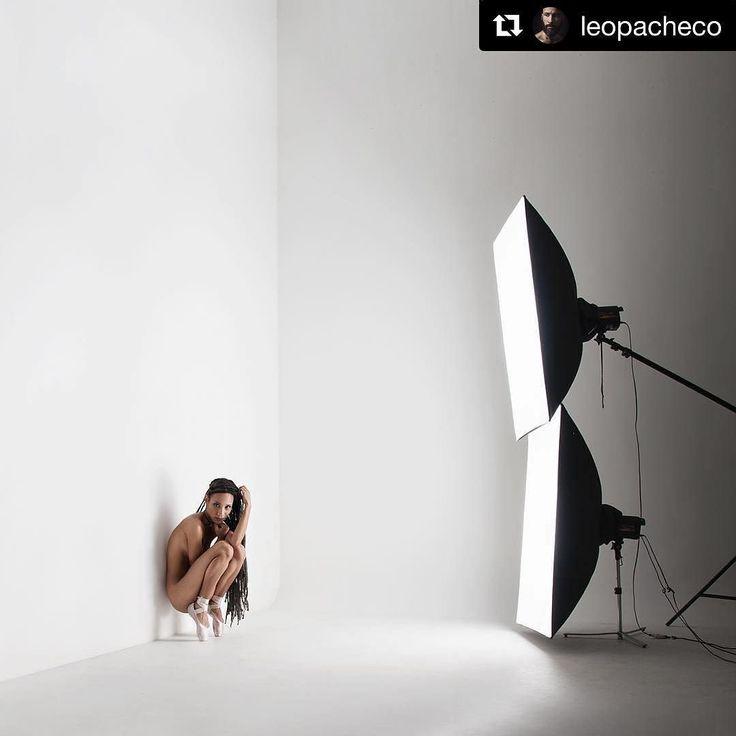 Behind the scenes by @leopacheco   Ballet :D bailarina: @nadiareism