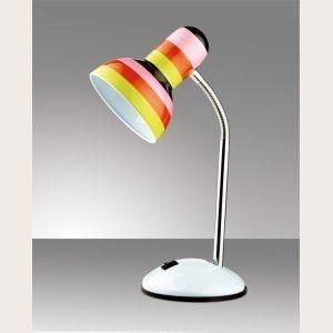 ЛАМПА НАСТОЛЬНАЯ ODEON LIGHT 2593/1T, серия Flip. Оригинальные и яркие  лампы в детскую комнату.