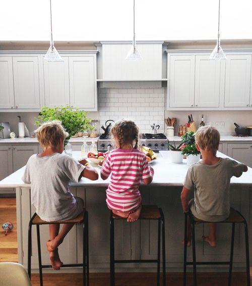 Living With Kids: Courtney Adamo Similar Kitchen Layout
