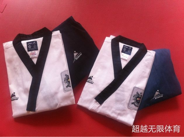 (59.70$)  Buy here - http://aifif.worlditems.win/all/product.php?id=32372019978 - New Professional WTF Poomsae dobok Taekwondo suits authentic designated Taishan TKD Poomsae fabrics uniforms have Dan clothes