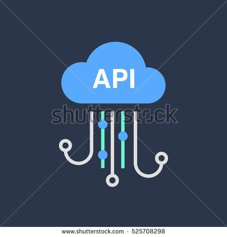 Cloud technology icon. Modern minimal linear design. Illustration of innovations and Internet of things. Green home and technologies.