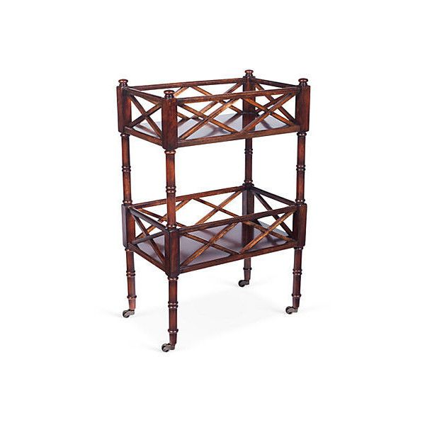 Peters Bar Cart Cherry Carts 279 Liked On Polyvore Featuring Home