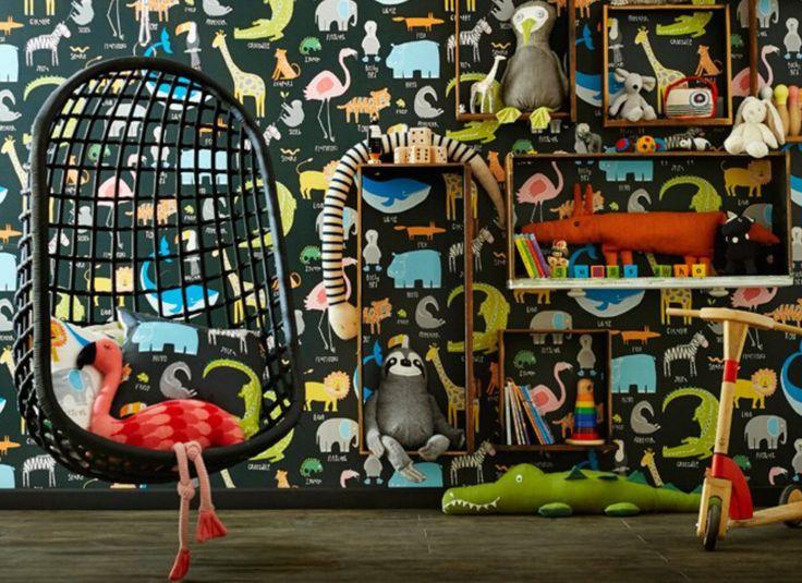 Papeles de colgadura creados únicamente para los niños, encuéntralos en Dekor Group