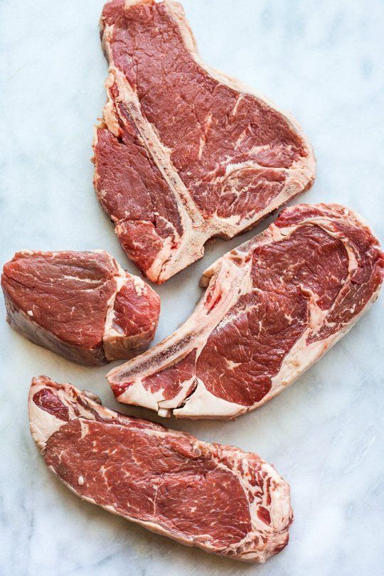 The 4 Cuts of Steak You Should Know — Meat Basics (via Bloglovin.com )