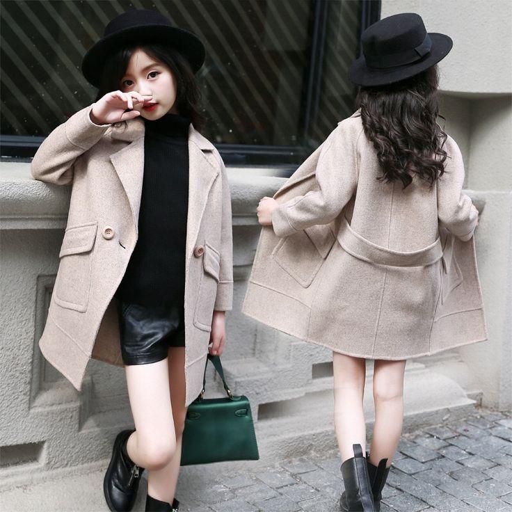Осень <b>2018</b> Новое поступление Модная одежда для девочек ...