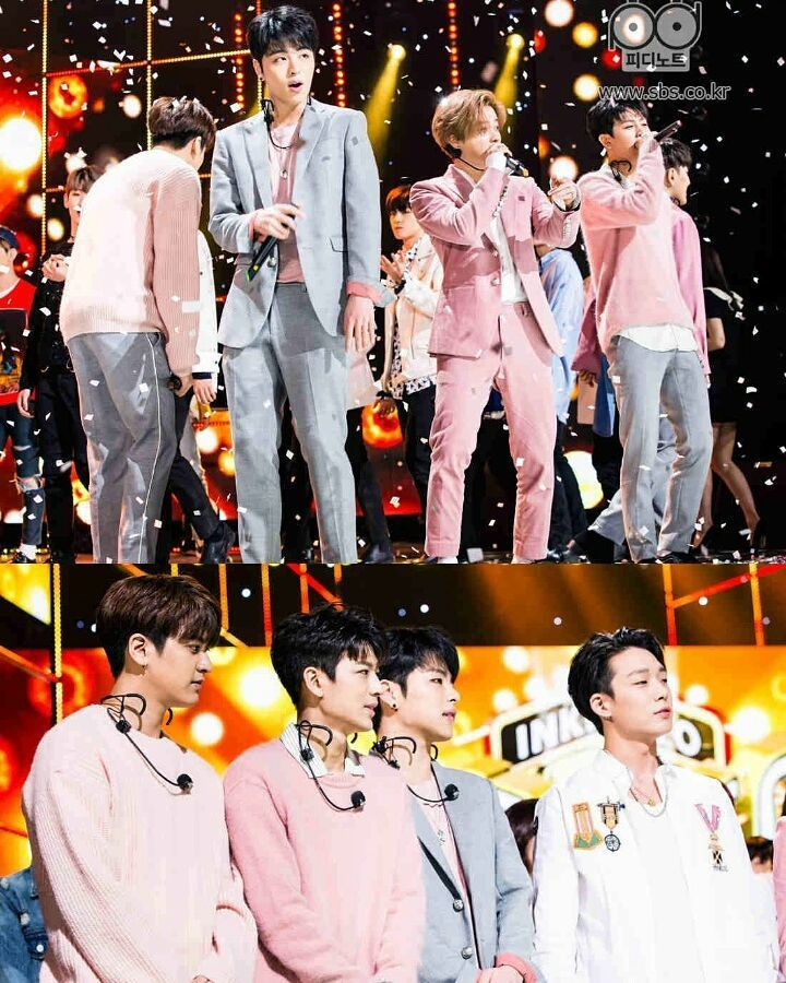 Sbs Pd Note Update Photo Of Ikon On Inkigayo Congratulations Boys