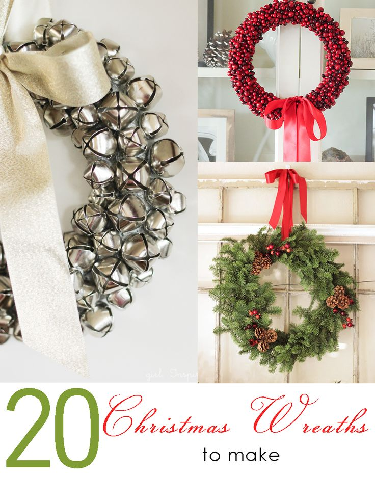 20 Christmas Wreaths to Make 267 best