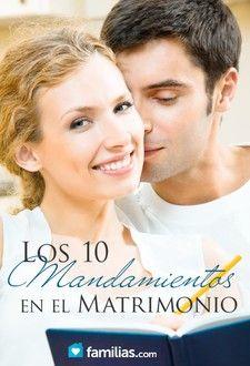 Los diez mandamientos del matrimonio