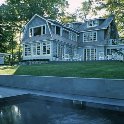 49 best images about colonial revival exterior inspirations on pinterest for Colonial house exterior renovation ideas