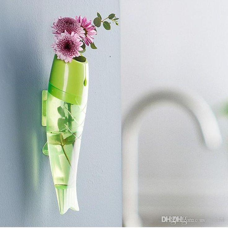 Vaso A Parete Rimovibile Trasparente Di Plastica Decorazioni La Casa Creative Colorato Acqua Idroponica Vasi Nuovo Orc All'ingrosso Da