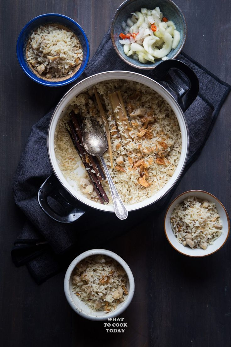 Nasi Kebuli Ayam / Indonesian Chicken Spiced Rice #nasikebuli #rice #indonesianfood