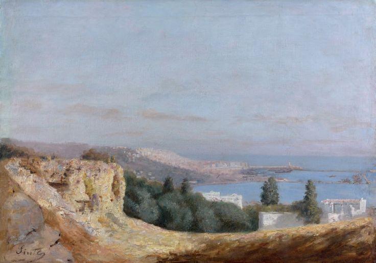 Joseph Sintes (Alaior 1829 - Alger 1913) Titre «Vue d'Alger »