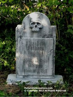 elisabeth báthory grave | Elizabeth Bathory Tombstone. Creation by Pottersfieldcreations.com