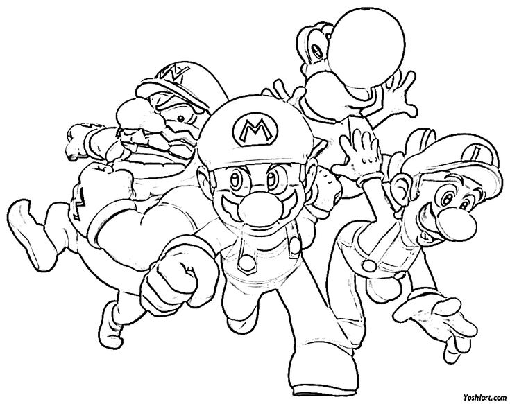 10 best images about super mario bros disegni da colorare for Disegni da colorare super mario