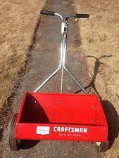 vintage craftsman lawn fertilizer spreader . . .