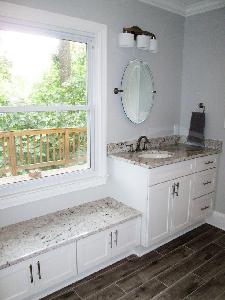Master bathroom renovation by Penn Carpentry Atlanta