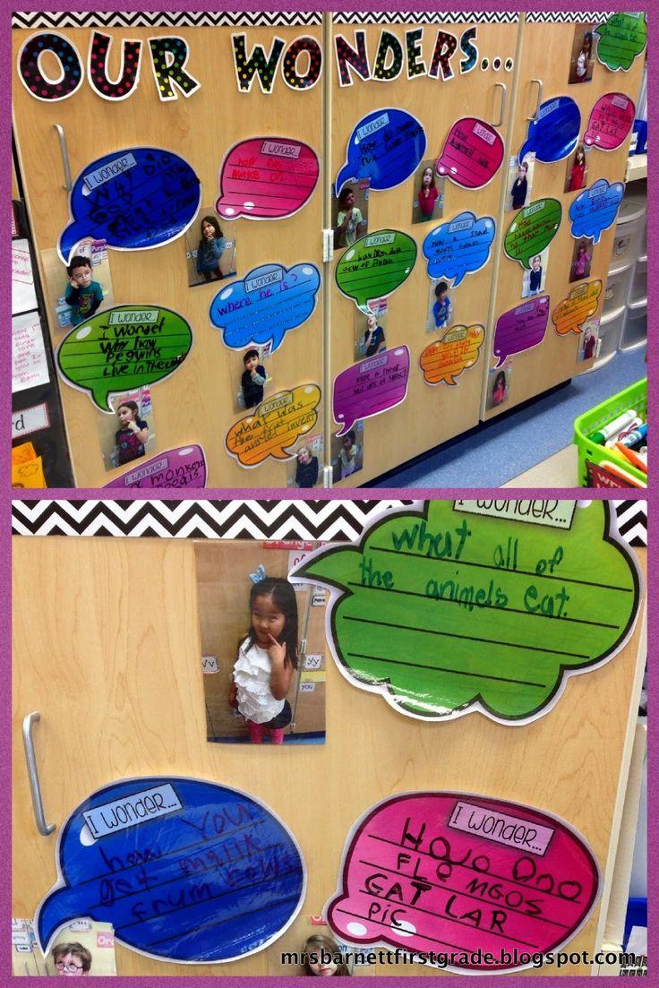 Mrs. Barnett's First Grade Class: Genius Hour / Wonder Bubbles