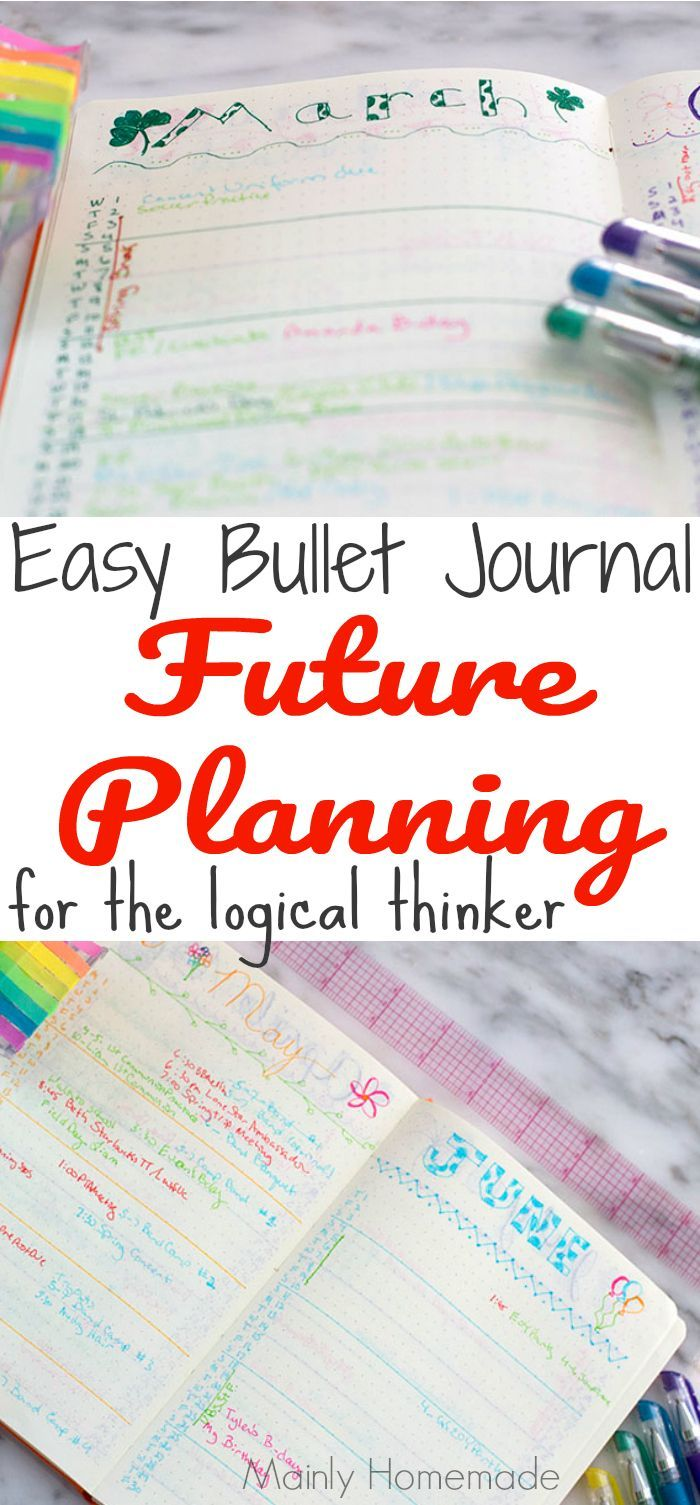 easy bullet journal future planning you will love card making tips rh pinterest com