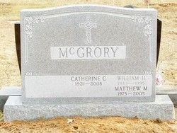 Matthew McGrory, Saints Peter & Paul Cemetery, Springfield, PA