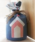 Beach hut doorstop free tutorial