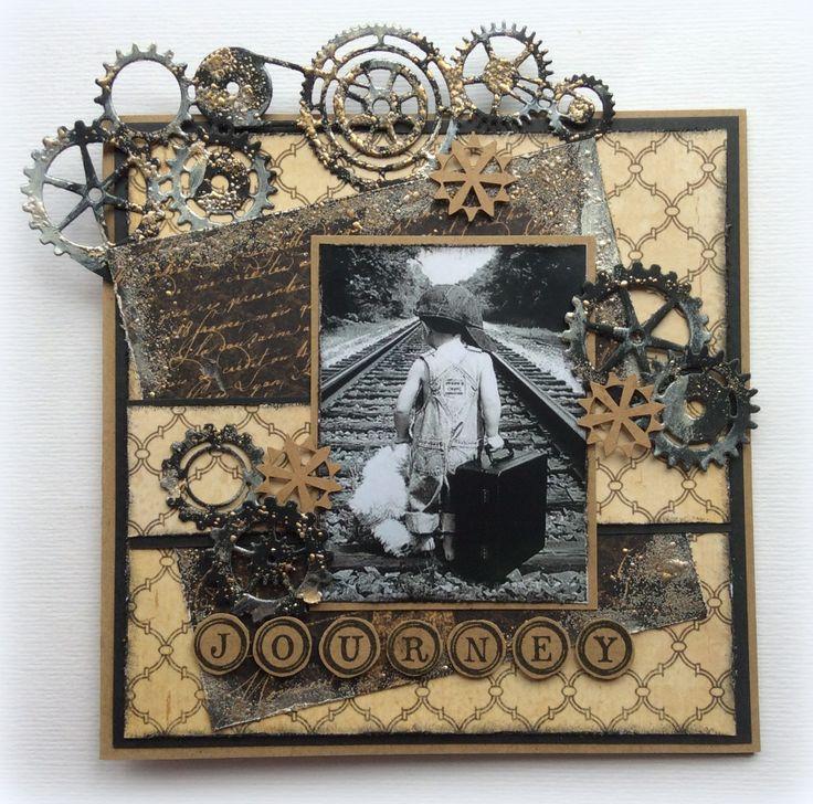 6002/0288 Noor! Design randstans Gears door Jolanda Bergmans