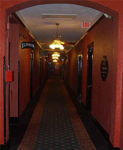 Inside The Crescent Hotel It Even Looks Creepy World Hotels In 2018 Pinterest Eureka Springs Places And Haunted