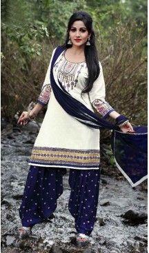 Off White Color Cotton Straight Cut Punjabi Patiyala Suit | FH527679747 #punjabi , #patiyala, #shindhi, #suits, #narrow, #dresses, #salwar, #kameez, #straight, #long, #heenastyle, #indian, #online, #shopping, #clothing, #womens, #girls, #style, #mode, #henna, #hina, #mehendi, #dupatta, #chudidar, @heenastyle , #pakistani, #readymade