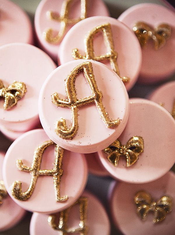 "We could do sugar cookies with white frosting and maybe a silver ""P"". Just to personalize the par-tay. @Andi Fisher Johnson"