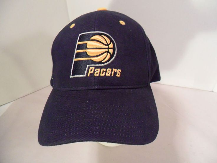 Indiana Pacers Basketball NBA Hat Cap Blue/Yellow One Size UNWORN CONDITION #NBAElevation #IndianaPacers
