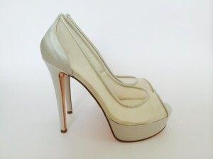 Model: Roberta - Collezione di Scarpe da Sposa di Gloria Saccucci