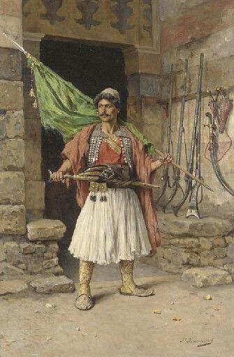The Albanian Warrior in Egypt 1810