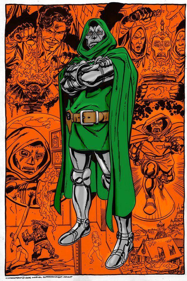 Dr Doom by John Byrne