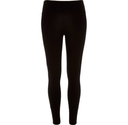 Checkout this Black high waisted leggings from River Island