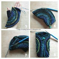 Knitting and so on: Kreisel Fingerless Gloves