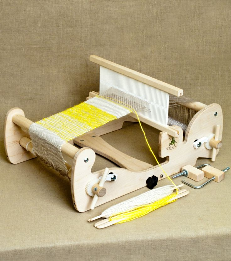 Cricket Looms from Schacht Spindle Co.: The Cricket Loom is compact, well-made and super capable! Superiorly engineered by Schacht Spindle Co., the Cricket is made of high-quality, unfinished apple ply and hard maple! $169.00