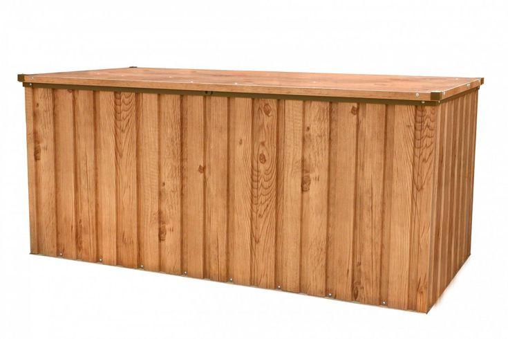 Duramax, Metall-Gerätebox 170x70 Holz-Dekor Eiche Jetzt bestellen unter: https://moebel.ladendirekt.de/garten/gartenmoebel/aufbewahrung/?uid=3541b61e-0cd9-5bb3-92b5-8eb9b878eefa&utm_source=pinterest&utm_medium=pin&utm_campaign=boards #baumarkt #gewächshäuser #aufbewahrung #garten #gartenhäuser #gartenmoebel