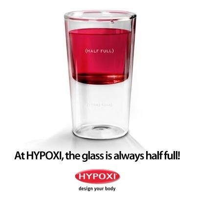 Life is too short to think 'half-empty'! #Hypoxi #HealthySkin @hypoxiaustralia