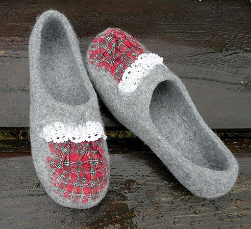slippers- my feet do very much prefer to be warm
