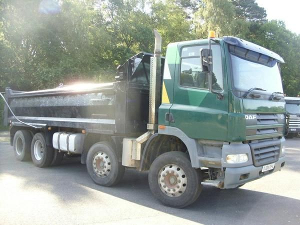 DAF TRUCKS FADCF85.340 steel body tipper Diesel - http://tractorsforsales.com/daf-trucks-fadcf85-340-steel-body-tipper-diesel/