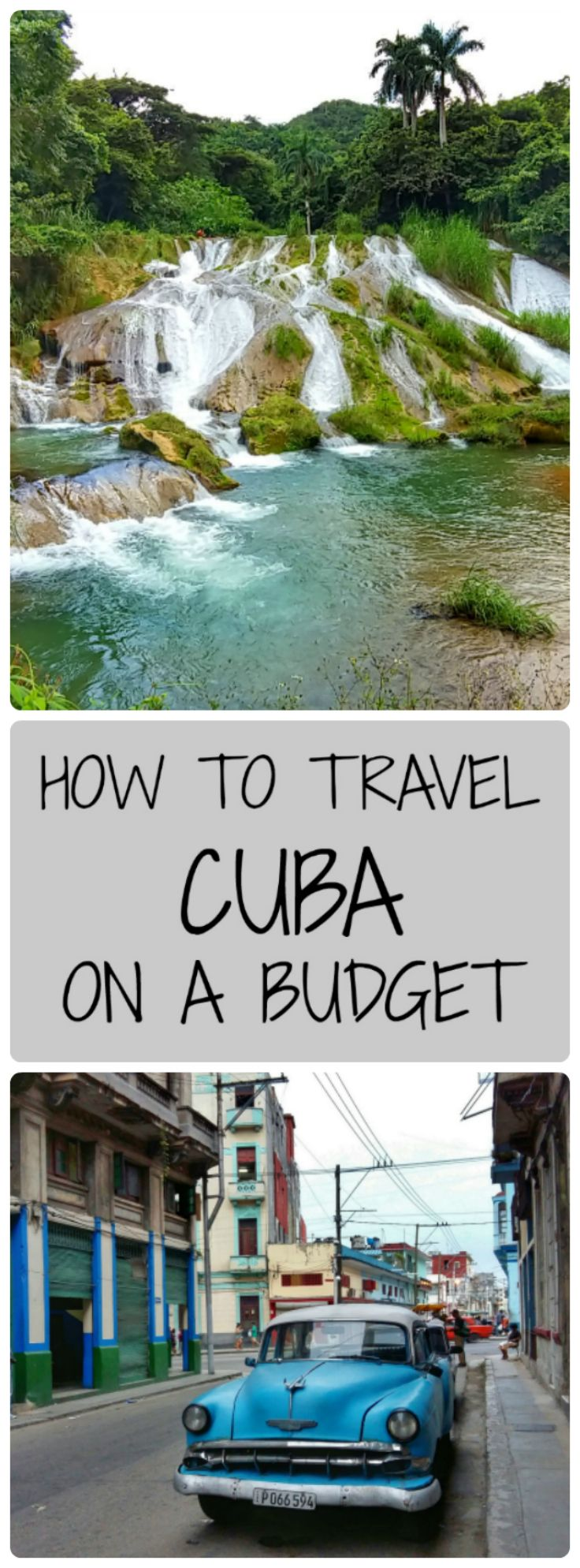 Travelling to Cuba on a Budget?  Here are all the tips you need about going to Cuba and not breaking the bank!  Includes tips for solo travel to Cuba and backpacking in Cuba!