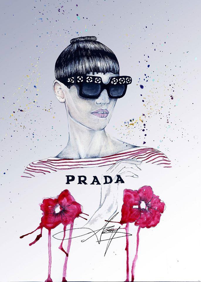 Saskia de Brauw in PRADA SS13 CAMPAIGN http://bit.ly/1h0Fq8L