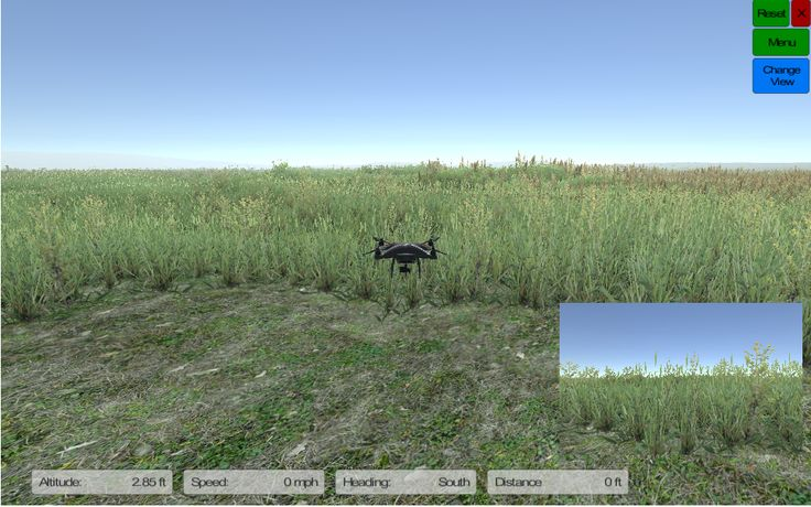 PC based droneSim Pro drone simulator
